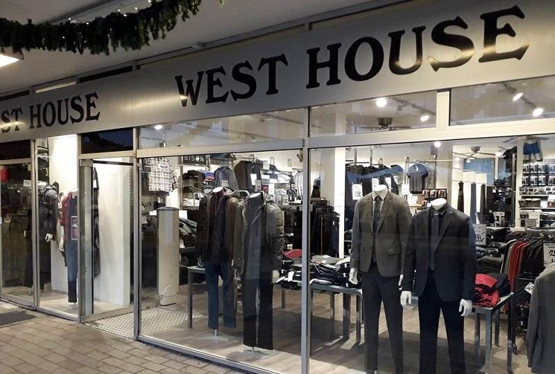 West House Tårnby Torv herretøjsbutik